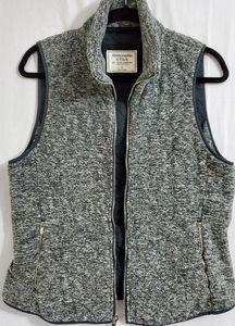 Abercrombie & Fitch Ladies  Fleece Vest Sz Lg